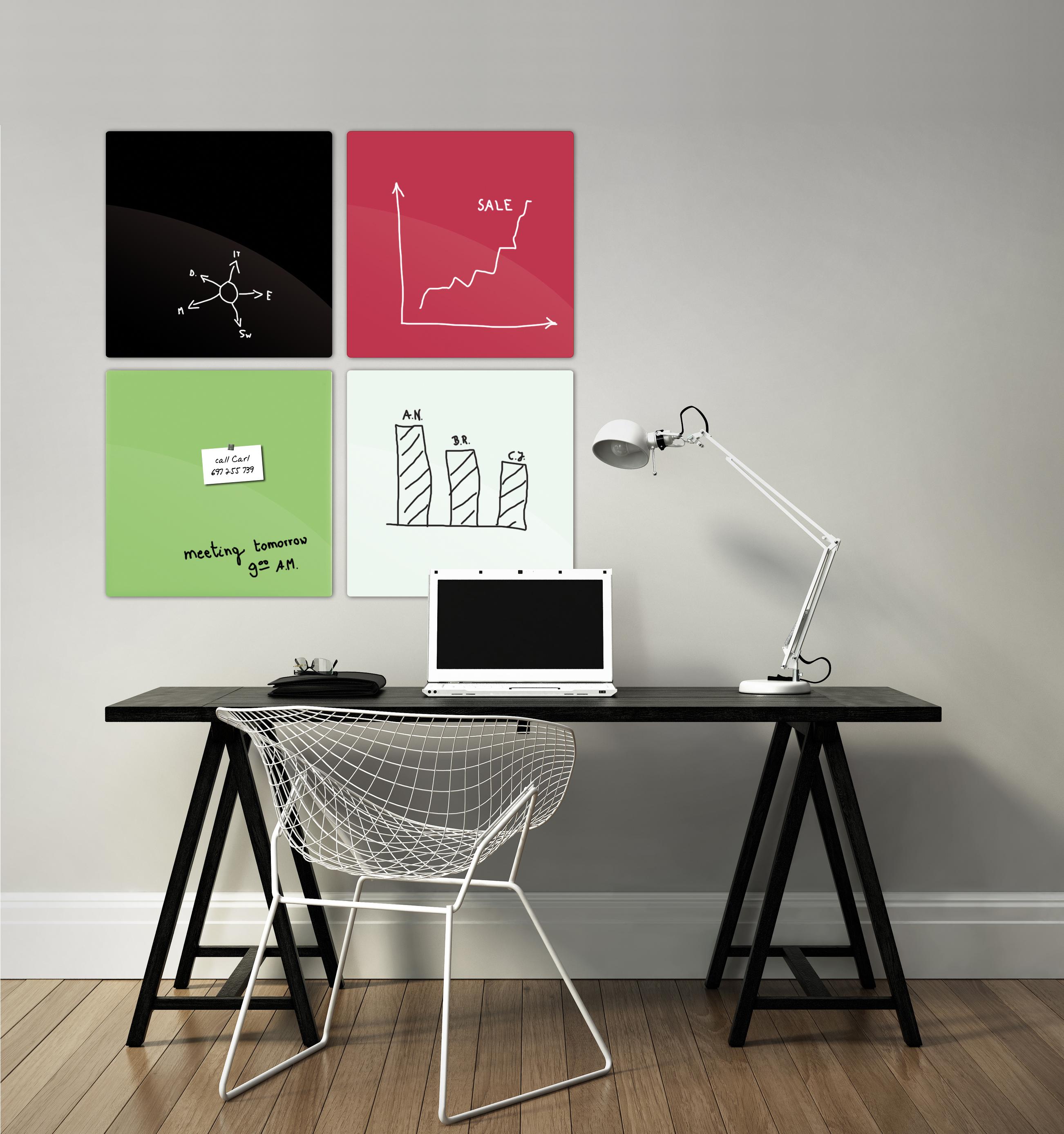 Elegant vintage home office interior